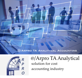 Software Arpro TA Analytical accounting software solutions