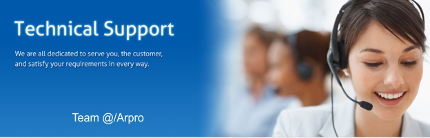 fast & complete Technical Support for you