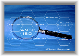 ANSI/ISO/EIC quality check, quality control, quality business management software