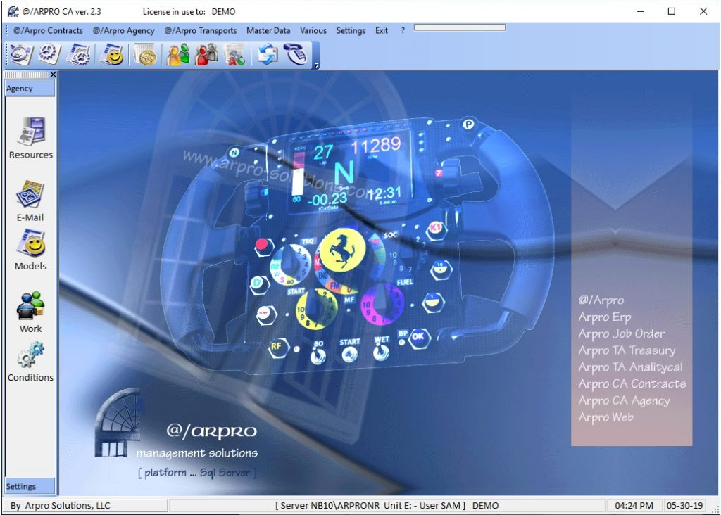 Arpro contracts user dashboard. Solutions that truly work
