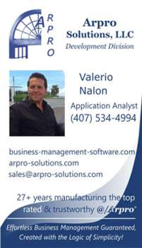 Business card Valerio Nalon